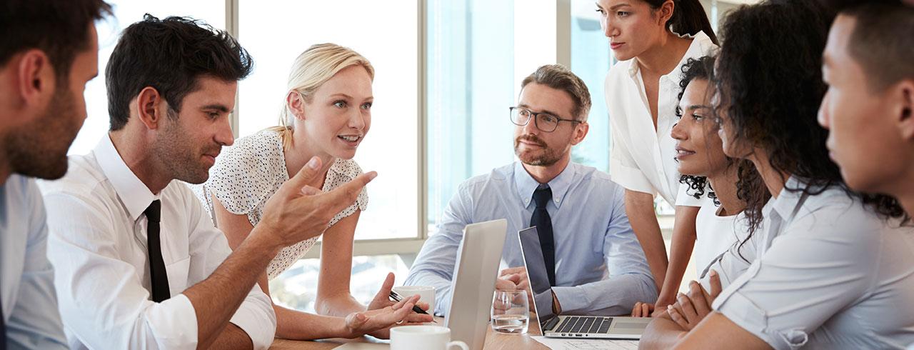 Bürobedarf - Unterstützung von Kundenprozessen
